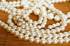 Perles Photo stock