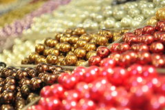 Perles Photographie stock