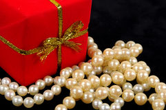 Perles Photographie stock libre de droits