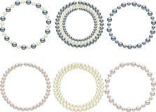 Perles illustration libre de droits