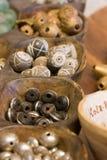 Perles africaines Photo libre de droits