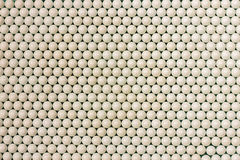 Perles blanches de sorte Images stock
