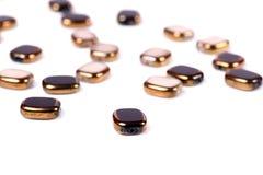 Perles cassées Photos libres de droits