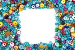 Perles colorées photographie stock