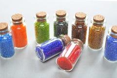 Perles colorées multi photographie stock