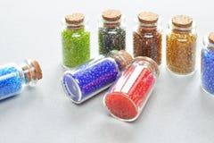 Perles colorées multi photos libres de droits
