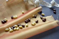 Perles décoratives Photos stock
