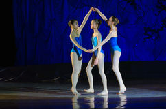 Perles de ballet Images stock