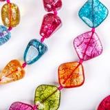 Perles de couleur Images libres de droits