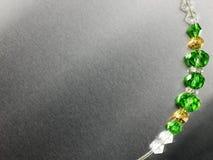 Perles de couleur Photographie stock