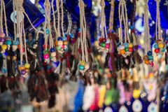 Perles de diverse couleur Photos stock