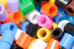 Perles de diverses couleurs, belles Image stock
