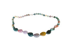 Perles de jaspe Photographie stock libre de droits