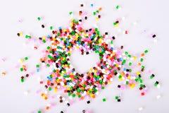 Perles de la pièce d'enfants Photos libres de droits