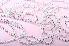 Perles de Noël Photos libres de droits