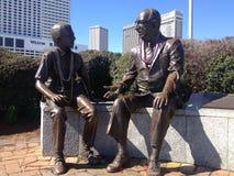 Perles de port de statue de Mardi Gras photos libres de droits