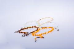 Perles de prière de couleur Image libre de droits