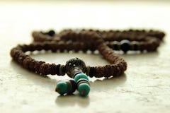 Perles de prière tibétaines photo libre de droits