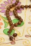 Perles de prière Image stock