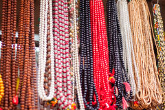 Perles de prière Photo stock