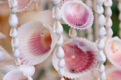 Perles de Shell au marché de métier dans Kona photo libre de droits