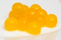 Perles de thé de bulle Images libres de droits