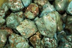 Perles de turquoise Photo libre de droits