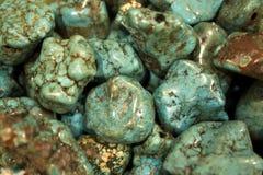 Perles de turquoise Images stock