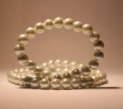 Perles des perles Images libres de droits