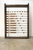 Perles en bois d'abaque Image libre de droits