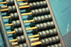 Perles en bois d'abaque Photos stock