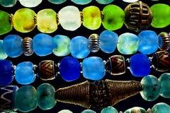 Perles en verre Photographie stock