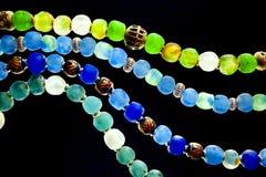 Perles en verre Photographie stock libre de droits