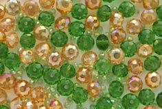 Perles en verre Image libre de droits