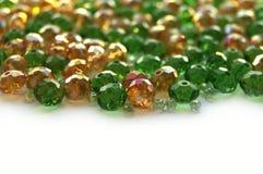 Perles en verre Photo libre de droits