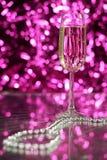 Perles en verre et en verre Photo stock
