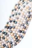 Perles multicolores Photos stock