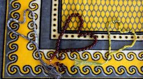 Perles musulmanes photo libre de droits