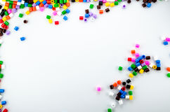 Perles polychromes Photo stock