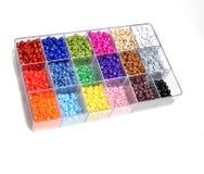 Perles pour des bijoux de métiers Images libres de droits