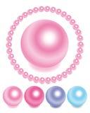 perles réglées Images libres de droits