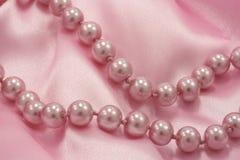 Perles roses Image stock