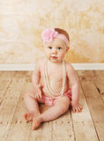 Perles s'usantes de bébé Photo stock