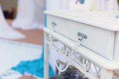 Perles sur le Tableau Image stock