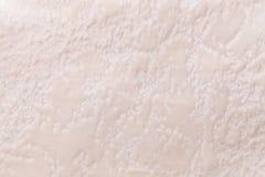 Perlez le fond d'un matériel de textile mou de tapisserie d'ameublement, plan rapproché Photo stock