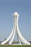 Perlez le monument avec six voiles de dhaw et une perle Photos libres de droits