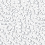 Perlt Halskette Stockfoto