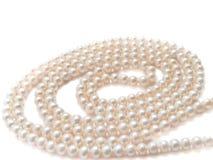 Perlt Halskettenschmucksachen Lizenzfreie Stockfotos