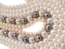 Perlt Halskettenschmucksachen Lizenzfreies Stockfoto