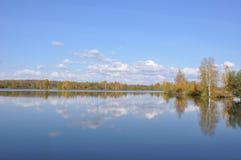 Perm Krai Il fiume Kama Immagini Stock Libere da Diritti